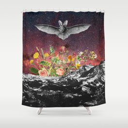 THE BAT Shower Curtain