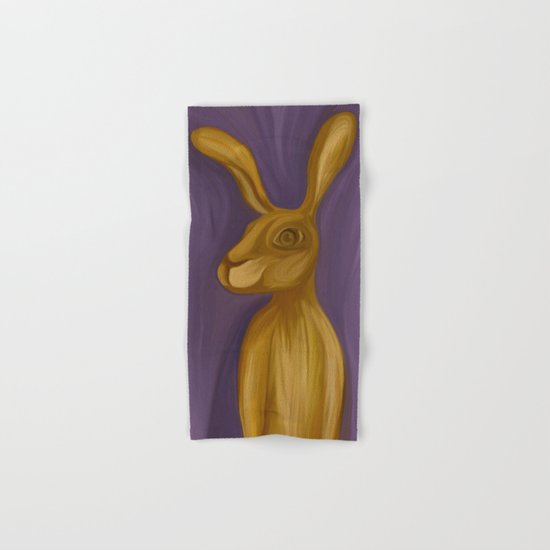 Jack Rabbit Hand & Bath Towel