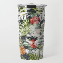 Tropical tiger Travel Mug