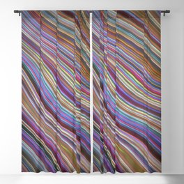 Wild Wavy Lines 20 Blackout Curtain