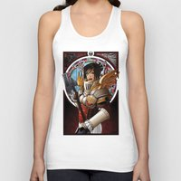 justice Tank Tops featuring Justice by Scott McCauley