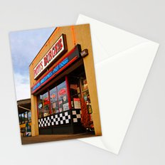 Patty's diner Stationery Cards