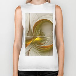 Abstract With Colors Of Precious Metals 2 Biker Tank