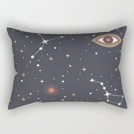 Mystical Galaxy Rectangular Pillow