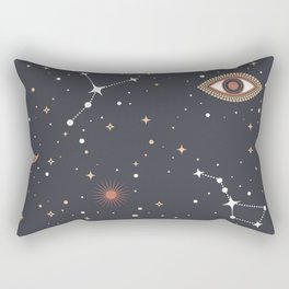 Mystical Galaxy Rectangular Pillow