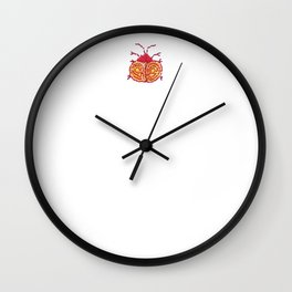 Stitches: Bugs Wall Clock