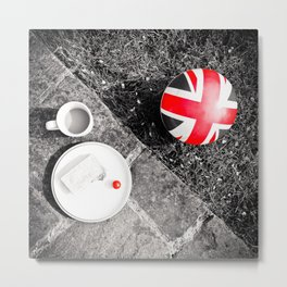 British Sunday | Still Life 88A Metal Print