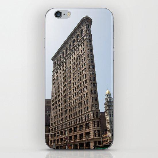 The Flat Iron Building iPhone & iPod Skin