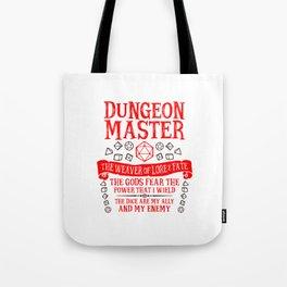 Dungeon Master Tote Bag