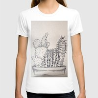 cacti T-shirts featuring Cacti by Goni Halevy