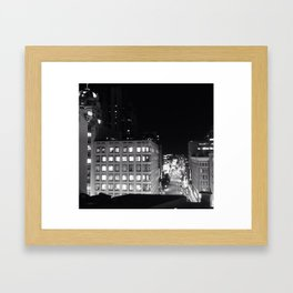 I Left My Heart In San Francisco. Framed Art Print