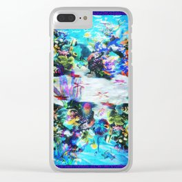 """Sealife, SeeLife!"" by surrealpete Clear iPhone Case"