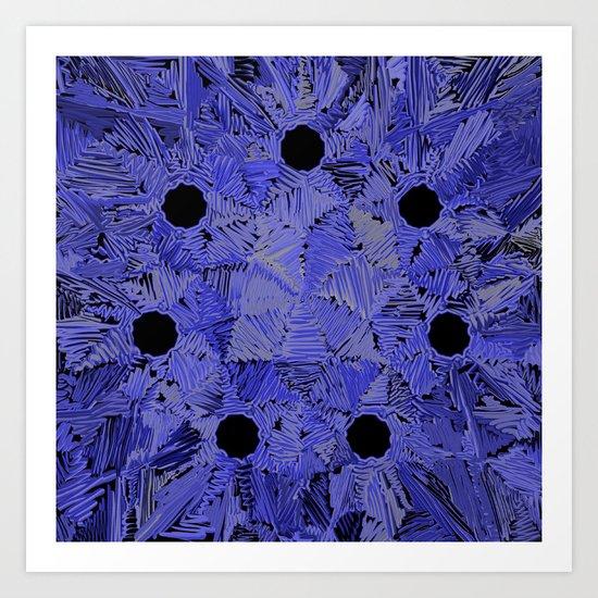 Heptatrypa Art Print