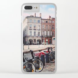 Toulouse street II Clear iPhone Case