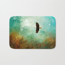 Treetop Eagle Flight Bath Mat