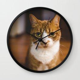 The Cat. Wall Clock