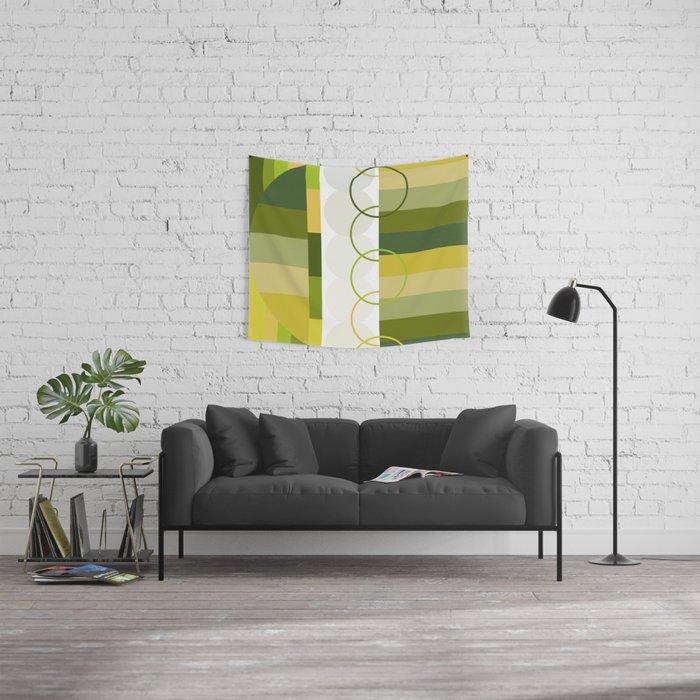 Lemon Lime Wall Tapestry