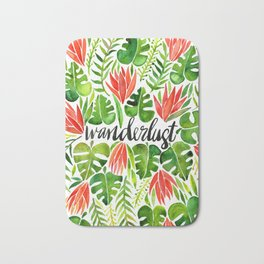 Tropical Wanderlust – Watermelon Palette Bath Mat