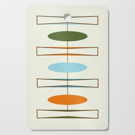 Mid-Century Modern Art 1.2 Cutting Board