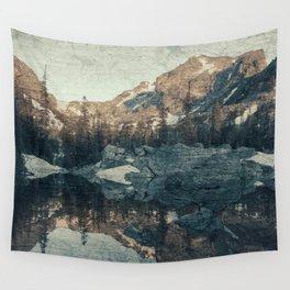 Lake Haiyaha Wall Tapestry