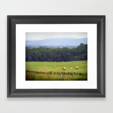 Blue Ridge Mountains Virginia Framed Art Print