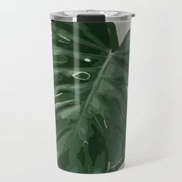 Monstera, Santa #1 Travel Mug