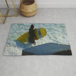 Little Surfer Girl Rug