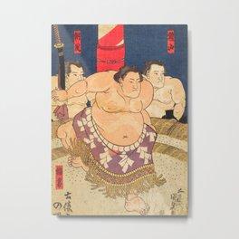 Sumo fighter II Metal Print