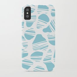 Okapi Animal Print [Island Blue] iPhone Case