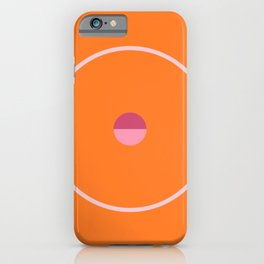 catch || orange & peach blossom iPhone Case