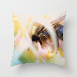 Bzz Off Throw Pillow