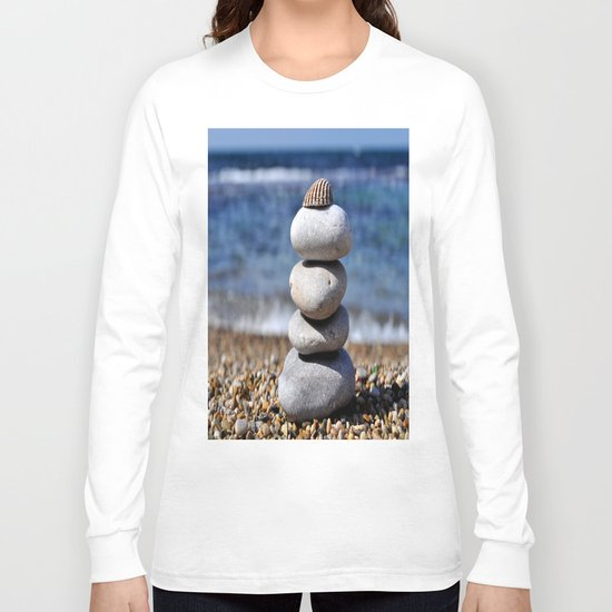 pyramid of stones Long Sleeve T-shirt