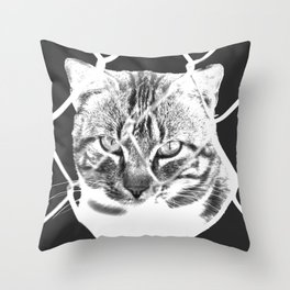 freedom for animals Throw Pillow