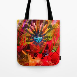 Native power Tote Bag