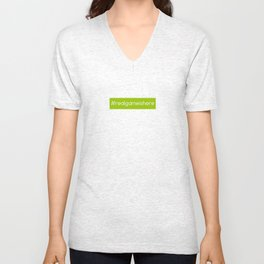 Real game is here Unisex V-Neck