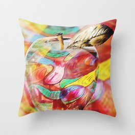 Apple for Apple and Dream for Dream Throw Pillow
