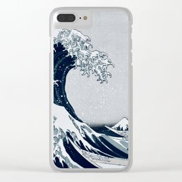 The Great Wave - By Hokusai Clear iPhone Case