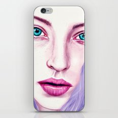 GIRL iPhone Skin