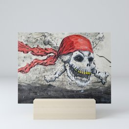 Skully Jack Mini Art Print