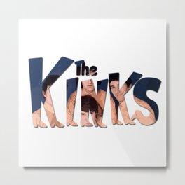 THE KINKS Metal Print
