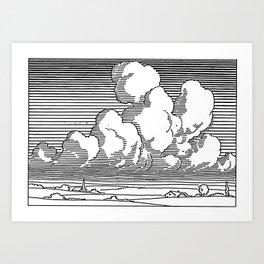 Cumulus Congestus Cloud Art Print
