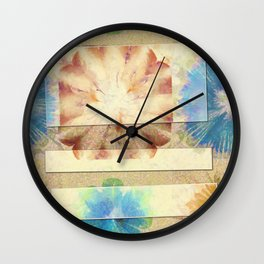 Numerably Touch Flowers  ID:16165-132620-50181 Wall Clock