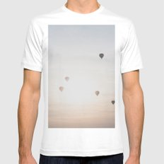 Bagan IX LARGE Mens Fitted Tee White