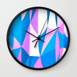 Psycadelic Candycane Wall Clock