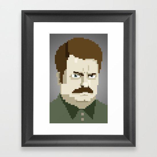Just A Kid Framed Art Print