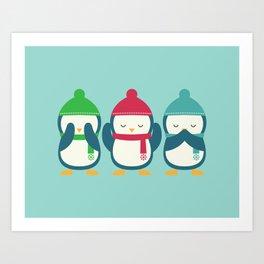 Penguin Love Art Prints Society6