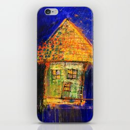 Yellow roof iPhone Skin