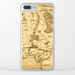 middleearth Clear iPhone Case