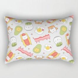 Cat food and succulent Rectangular Pillow