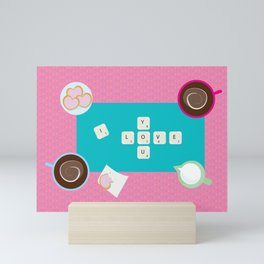 Scrabblove Mini Art Print